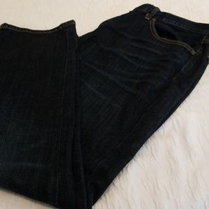 Men's Lucky Brand dark washed jeans